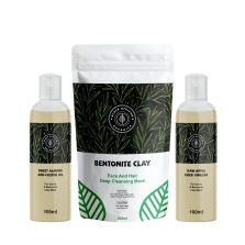 Black African Organics Bentonite Clay Kit