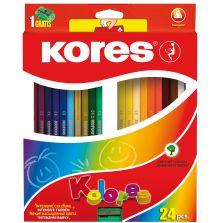 Kores Kolores Coloured Pencils Crayons 24'S