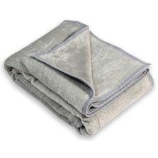 Aranda Cotton Suede Blanket Wild Dove