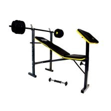 Everlast Force Bench With Barbell, Dumbbell & 18.2kg Weights
