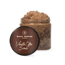 Black African Organics Vanilla Coffee Scrub 250ml