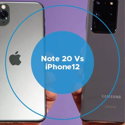 Note 20 vs iPhone 12