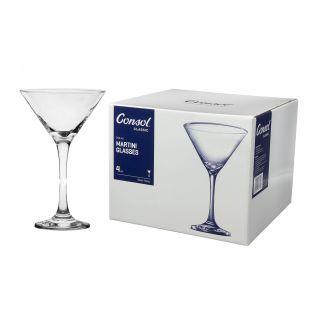 Consol Saint-Remy Martini Glass Set of 4