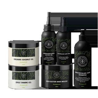 Black African Organics Deluxe Hair Care Kit