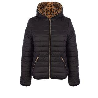 Sissy Boy BANO: Reversible Puffer/ Animal Faux Fur Jacket