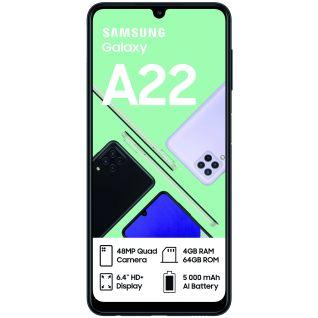 Samsung Galaxy A22 Dual Sim Black